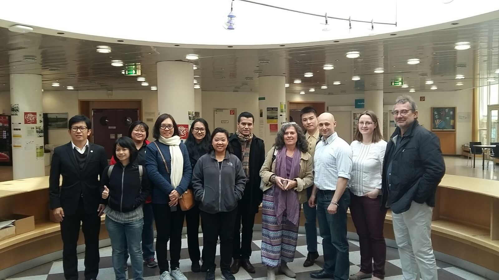 Group Picture after visit of BOKU Vienna